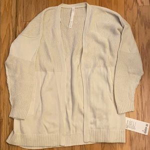 NWT Cream Lululemon Sweater